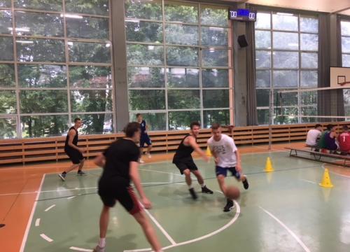 Mistrzostwa Szkoły w Streetballu