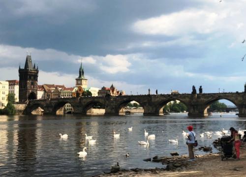 Krok za krokiem po Pradze
